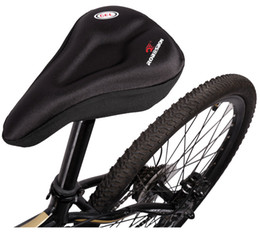 Silica Gel Soft Bicycle Cycling Saddle Seat Cover Comfort Bike Cushion Pad Case
