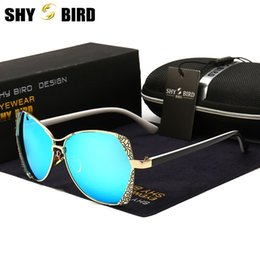 aa4c8875be SHYBIRD Brand Factory Direct New Rhinestones Polarized Sunglasses Women s  Fashion Sun glasses Outdoors Sports Glasses Driving Eyewear 8768