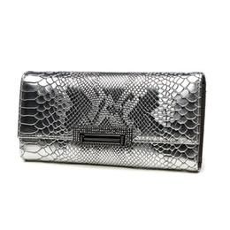 $enCountryForm.capitalKeyWord UK - Vintage Alligator Women Cow Genuine Leather Day Clutches Lady Clutch Wallet Hand Bag Phone Holder Envelope Evening Bag Wristlet