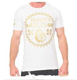 New jeaNs shirt for meN online shopping - New Robin s Jean Shirts Tshirts For Mens Robin Jeans Shirts Cotton Robins T Shirt Hip Hop Men Short Sleeve T Shirt Robin Short Tee
