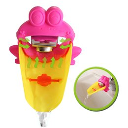 $enCountryForm.capitalKeyWord UK - Lovely Cartoon KidsCare Faucet Funny Frog crab Faucet Extender For Baby Hand Washing Helper Infant Bathroom Children Accessories