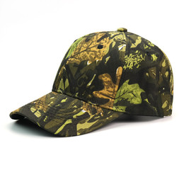 military hat wholesale Canada - Adjustable Snapbacks Hats designer hats baseball caps Hip Hop cap Camouflage field travel Sports for Men Women Top quality