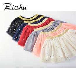 4a57a5ca91ad8 Richu jupe shorts bonbons couleurs bébé fille jupe tutu jupes de noël pour  filles shorts paillettes Jupe pour la danse pas cher en vente