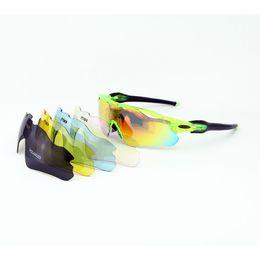 d91fa08c45c 5 Lenses Polarized Cycling Glasses Men Women UV400 Sunglasses MTB Bike  Riding Mountain Bicycle Glass EV Evzero TR90