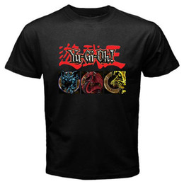 yu gi oh cards 2019 - New YU GI OH Egyptian God Cards Anime Cartoon Men's Black T-Shirt Funny free shipping Unisex Casual gift discount yu gi