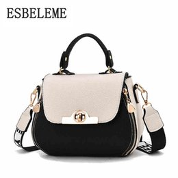 2018 New Arrival Women Faux Leather Shoulder Bag Female Handbags Girls  Ladies Patchwork Small Messenger Crossbody Bags YG357 275ac701a8dcf