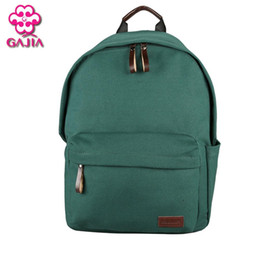 Wholesale sells books for sale – custom GAJIA Hot Selling Fashion Student Book Bag Women Backpack High Quality Canvas Kawaii Girl Plaid Preppy Style Backpack Travel Bag