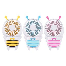 Travel fan online shopping - Deek Robot Mini Bee Rechargeable Handheld USB Fan With LED Light For Office Home Travel