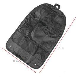 Assorted Clothing Wholesale UK - Multi Holder Pocket Organizer Bag Back Seat Organizer Auto Portable Assorted Pocket Car Seat Storage Bag Car Covers storage bags