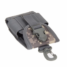 $enCountryForm.capitalKeyWord UK - Outdoor Camping Hunting Bags Tactical Molle Cell Phone Case Bag Nylon Buckle Waist Pouch Pack Outdoor Sports Survival Tools