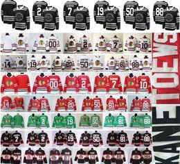 2019 Зимний Классический Чикаго Блэкхокс Хоккей 19 Джонатан Toews 88 Патрик Кейн DeBrincat Кит Кларк Грисволд Хосса Кори Кроуфорд Джерси