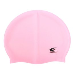 $enCountryForm.capitalKeyWord UK - FEIUPEF Swimming Pool Cap Unisex Silicone Molded Swim Hat Waterproof Shower Ladies Mens Pink