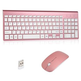 Keyboard For Office NZ - Wireless Keyboard And Mouse Combo Full-sized 2.4GHz Wireless Keyboard 102 Keys And Power-saving Mouse For Home Office Use