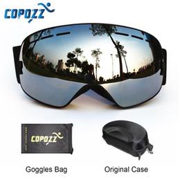 $enCountryForm.capitalKeyWord NZ - COPOZZ Ski Goggles with Box Case Ski Mask UV400 Anti-fog Snow Goggles Big Spherical Skiing Snowboarding for Women Men