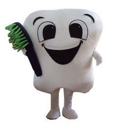 2019 hot sale teeth and toothbrush mascot costume mascot costumes for adults christmas halloween outfit fancy dress