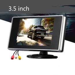 screen tft lcd UK - 3.5 Inch Portable Color LCD TFT Car Rear View Backup Monitor Screen for Backup Camera, Car Reversing Camera,CCTV Camera And Car DVD player