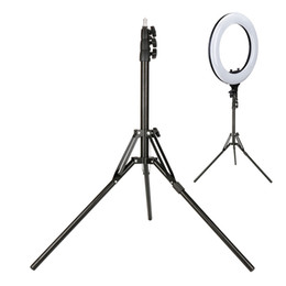 Video ring online shopping - Foldable Tripod Base for R B Ring Video Camera LED Light Extendable Stand for Live Broadcast Show Lighting