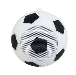 $enCountryForm.capitalKeyWord NZ - Portable Football Mini Wireless Bluetooth Speaker New Football Shape Creation Wireless Bluetooth Speaker For Iphone Samsung Fast DHLShipping