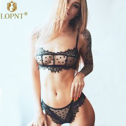 fe1241b800 Low cup bra Lingerie online shopping - LOPNT New sexy bras black floral lace  bralette mesh