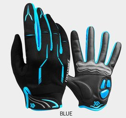 China Winter Cycling Gloves Touch Screen Gel Sport Shockproof Road Full Finger Bicycle Glove For Men Woman supplier touch fingers suppliers