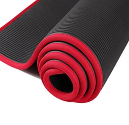 Ropa, Calzado Y Complementos 10mm Thickened Non-slip Nbr Yoga Mat Fitness Exercise Sports Gym Pilates Mat Tear Resistant With Yoga Mat Bag And Strap 183x61cm Latest Technology