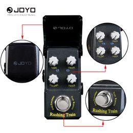 Mini Effects Pedals Australia - JOYO JF-306 Rush Tren Simulador de Amplificador VOX Estilo Mini Efectos de Guitarra Pedal-Guitar effect pedal