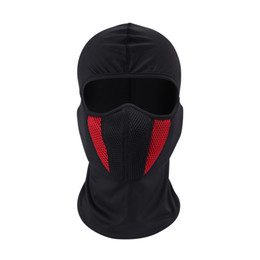 Discount paintball airsoft helmet - Balaclava Moto Face Mask Motorcycle Face Shield Tactical Airsoft Paintball Cycling Bike Ski Army Helmet Full Face Mask