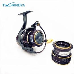 $enCountryForm.capitalKeyWord NZ - TSURINOYA Jaguar 1000 2000 3000 9+1BB Fishing Spinning Reel Carp Saltwater Fishing Reel Spinning Metal Handle 2 Spool Reels Coil Y1890402