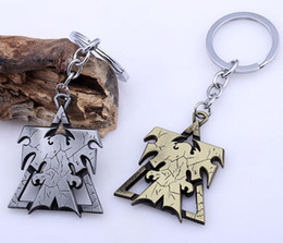 $enCountryForm.capitalKeyWord UK - 2018 New Keychain Superhero Wings of Liberty Terran Metal Logo Car Keyring Holder Chaveiro Gifts