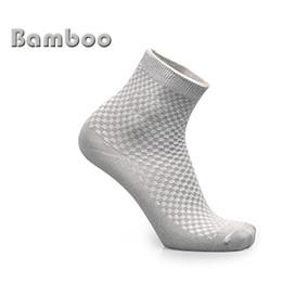 $enCountryForm.capitalKeyWord NZ - Men Bamboo Fiber Socks Brand New Casual Business Anti-Bacterial Deodorant Breathable Man Short Ankle Athletic Sport Running Sock with Box