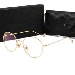 f14254f023b New Popular Decor Sunglasses 885117 Famous Designer Unisex Vintage Style  Glasses for Reading Learning Luxury Metal Round Frame Sunglasses