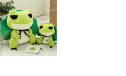 Games Direct NZ - Travel frog, doll, plush toy, tour around the same big hat, doll factory, direct sale, wholesale, customizable.
