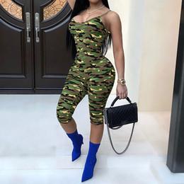 $enCountryForm.capitalKeyWord NZ - Women Fashion Camouflage Printed Tunic Jumpsuits Sexy Party Night Club Bandaged Rompers Slim Fit Bodysuits WS7561U