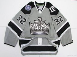 86d589859 Cheap custom JONATHAN QUICK LOS ANGELES KINGS 2014 STADIUM SERIES JERSEY  stitch add any number any name Mens Hockey Jersey XS-5XL