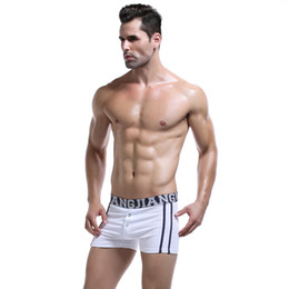 $enCountryForm.capitalKeyWord Canada - Cotton Men Boxer Underwear Trunks Gay Penis Pouch Home Pants Letter Belt High Quality Fashion Man Underwear Boxer Shorts Sleepwear