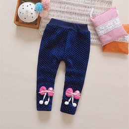 f7851093891d5e Warm Fleece Leggings Girls Canada - BibiCola Winter Kid Warm Velvet Pants  Autumn Girls Leggings Children
