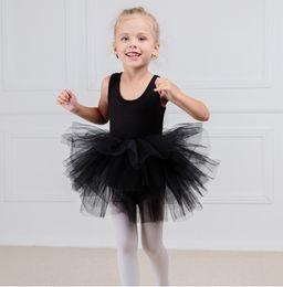 f4c6db0a1031 White Christmas Dance Costumes Australia - Fashion kids girl ballet tutu  dress Professional Kids dancing Party