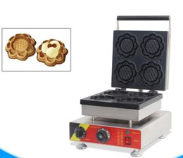 Chinese  Commercial Sunflower Shpae Waffle Maker Machine Electric Flower Shaped Waffle Making Machine Snack Maker Cafe Cake House LLFA manufacturers