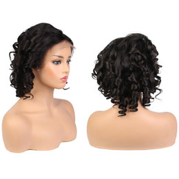 3ff43210227 Short hair man online shopping - LIN MAN Glueless Lace Front Wigs with Baby  Hair Loose
