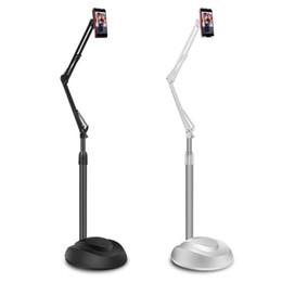 Lazy tabLet stand online shopping - Gooseneck Long Arm Floor Mobile Phone Stand Degree Adjustable Tablet Desktop Lazy Holder for ipad Mini Air