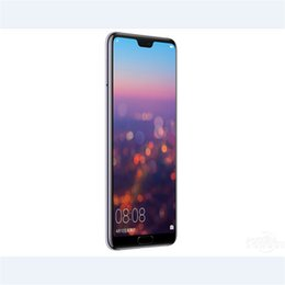 Google Dual Sim Smartphones NZ - 2018 Goophone P20 pro smartphones with 5.5inch Android dual sim shown fake 4G RAM 128G ROM 4G LTE cell phones
