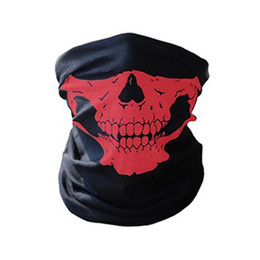 Discount skeleton tactical mask - CALOFE Skull Mask Skeleton Balaclava Ghost Tactical Breathable Outdoor Sports Ski Cycling UV Protect Skull Face Mask