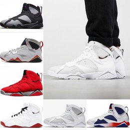 hare 7s shoes 2019 - 2018 Mens Designer 7 Basketball Shoes 7s Pure Money Fadeaway GMP Sports Bordeaux Hare History of Flight Tinker Alternate