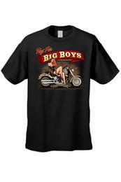 $enCountryForm.capitalKeyWord UK - MEN'S BIKER T-SHIRT UP TOYS FOR BIG BOYS SEXY WOMAN MOTORCYCLE CHOPPER TEE summer Hot Sale New Tee Print Men T-Shirt Top