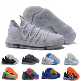 f456e9996027 Men Basketball Shoes 10 Anniversary University Still KD Igloo BETRUE Oreo  Kevin Durant Elite Sport Sneakers size 40-46 drop shipping
