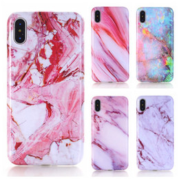 $enCountryForm.capitalKeyWord UK - Premium Phone Case for iPhone X 8 7 6 6S Plus Laser Marble Design Cover Case Sparking Shiny Bling Felxible Soft TPU Defender Shell cases