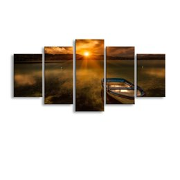$enCountryForm.capitalKeyWord Australia - 5 pieces high-definition print landscape canvas painting poster and wall art living room picture PL5-240