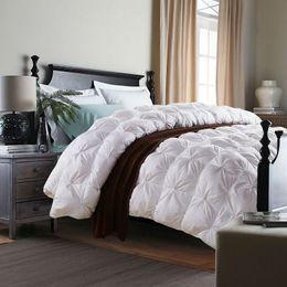 $enCountryForm.capitalKeyWord NZ - BEYOND CLOUD Winter Duvet White Goose Down Filling Comforter Thick Blanket 3D Warm Quilt Twin Queen King 100% Cotton Bedding 013