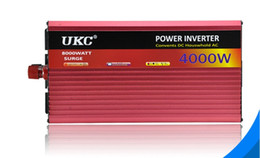 New professional high-power 12V to 220v4000w inverter, with water pumps, refrigerators, microwave ovens LLFA on Sale