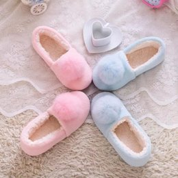 $enCountryForm.capitalKeyWord Canada - New Arrival Lovely Ladies Home Floor Soft Women indoor Slippers Soft Velvet Shoes Female Cashmere Warm Casual Shoes